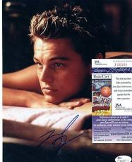 Leonardo  Dicaprio  Award Winning Actor   Signed Autographed 8x10    Jsa  J66389