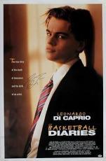 Leonardo Dicaprio Basketball Diaries Signed 27x41 Poster Psa #i81901