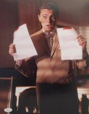 LEONARDO DiCAPRIO CATCH ME IF YOU CAN  SIGNED AUTHENTIC 11X14 PHOTO JSA H42339