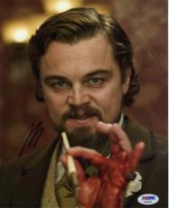 Leonardo DiCaprio Django Autographed Signed 8x10 Photo Certified PSA/DNA