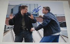 Leonardo Dicaprio Matt Damon Dual Signed 11x14 Photo Autograph The Departed Coa