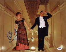 Leonardo DiCaprio Kate Winslet SIGNED 11x14 Photo Titanic PSA/DNA AUTOGRAPHED