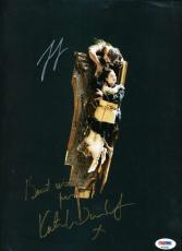 LEONARDO DICAPRIO KATE WINSLET TITANIC Hand Signed PSA DNA 9X12 Photo Autograph
