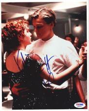 Leonardo Dicaprio & Kate Winslett Autographed Signed 8x10 Photo PSA/DNA #Q90401