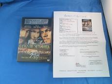 Leonardo Dicaprio Martin Scorsese Signed DVD Cover JSA COA Autograph Gangs NYC