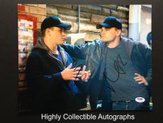 Leonardo Dicaprio & Matt Damon Signed 11x14 Photo The Departed Cast Psa Dna Coa
