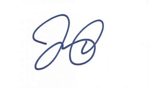 "LEONARDO DICAPRIO - Movies Include ""THE AVIATOR"" and ""CATCH ME IF YOU CAN"" Signed 5x3 Index Card"
