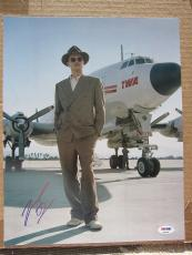 Leonardo DiCaprio signed 11x14 photo The Aviator PSA/DNA autograph