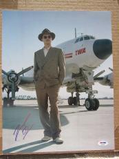 Leonardo DiCaprio signed 11x14 photo The Aviator PSA/DNA autograph