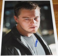 Leonardo Dicaprio Signed 11x14 Photo The Departed Titanic Autograph Coa A