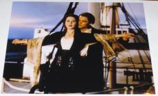 Leonardo Dicaprio Signed 11x14 Photo The Departed Titanic Autograph Coa B