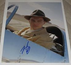 Leonardo Dicaprio Signed 11x14 Photo The Departed Titanic Autograph Coa C