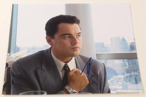 Leonardo Dicaprio Signed 11x14 Photo The Wolf Of Wall Street Authentic Autograph