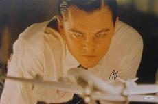 Leonardo Dicaprio Signed 12x18 Photo Aviator Titanic Jsa Coa F06797