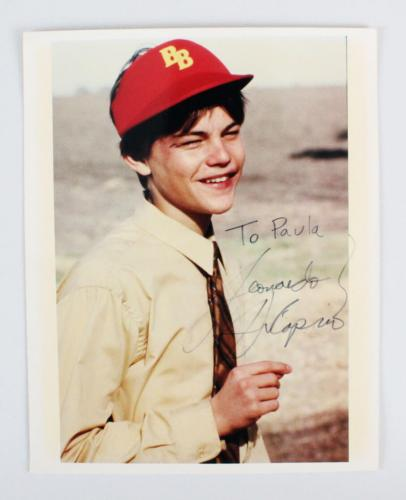 Leonardo DiCaprio Signed 8×10 Photo – COA JSA