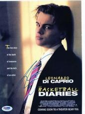Leonardo Dicaprio Signed 8.5x11 Photo Page Psa/dna #i85544