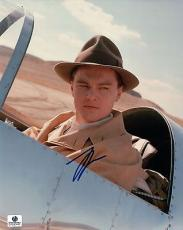 Leonardo DiCaprio Signed 8X10 Photo Autograph The Aviator In Plane GP330492