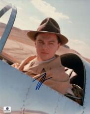 Leonardo DiCaprio Signed 8X10 Photo Autograph The Aviator In Plane GP330492