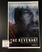 Leonardo Dicaprio Signed Auto The Revenant 12x18 Photograph Bas Beckett Coa