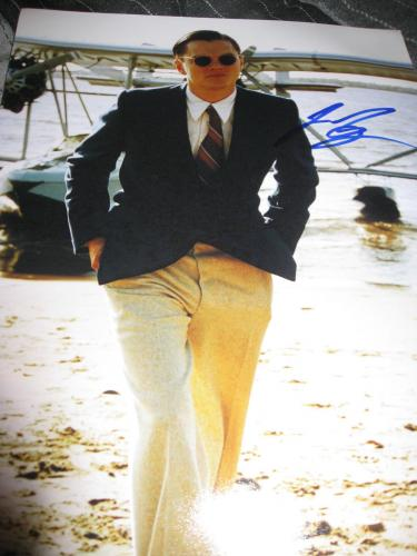 LEONARDO DICAPRIO SIGNED AUTOGRAPH 11x14 PHOTO THE AVIATOR PROMO IN PERSON COA D