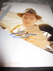 LEONARDO DICAPRIO SIGNED AUTOGRAPH 11x14 PHOTO THE AVIATOR PROMO IN PERSON COA M