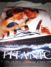 LEONARDO DICAPRIO SIGNED AUTOGRAPH 11x14 PHOTO TITANIC PROMO IN PERSON COA O