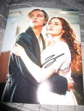 LEONARDO DICAPRIO SIGNED AUTOGRAPH 8x10 PHOTO TITANIC INCEPTION DEPARTED COA H