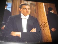LEONARDO DICAPRIO SIGNED AUTOGRAPH 8x10 PHOTO TITANIC PROMO IN PERSON COA AUTO D