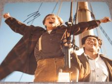 LEONARDO DICAPRIO SIGNED AUTOGRAPH 8x10 PHOTO TITANIC PROMO IN PERSON COA RARE Z