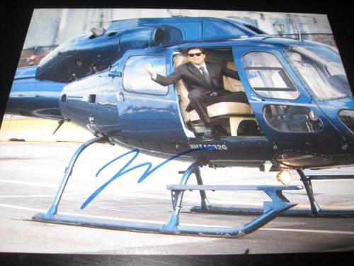 LEONARDO DICAPRIO SIGNED AUTOGRAPH 8x10 PHOTO WOLF OF WALL STREET PROMO COA X5