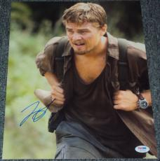 "Leonardo Dicaprio Signed Autograph ""blood Diamond"" 11x14 Photo Psa/dna W37978"