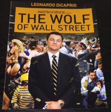 "LEONARDO DICAPRIO SIGNED AUTOGRAPH ""WOLF OF WALL STREET"" POSTER 11x14 PHOTO COA"