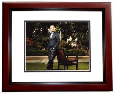 Leonardo DiCaprio Signed - Autographed 8x10 inch Photo MAHOGANY CUSTOM FRAME - Guaranteed to pass PSA or JSA - Best Actor Academy Award Winner