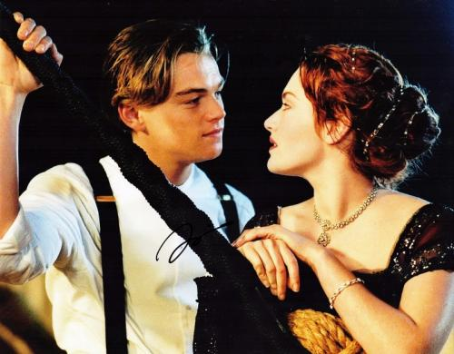Leonardo DiCaprio Signed - Autographed TITANIC 11x14 inch Photo - Guaranteed to pass PSA or JSA