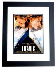 Leonardo DiCaprio Signed - Autographed TITANIC 11x14 inch Photo - Mini Movie Poster - BLACK CUSTOM FRAME - Guaranteed to pass PSA or JSA