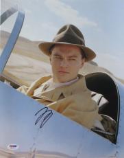 Leonardo Dicaprio Signed Aviator Autographed 11x14 Photo (PSA/DNA) #H67307