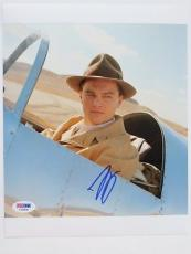 Leonardo Dicaprio Signed Aviator Autographed 8x10 Photo (PSA/DNA) #F79816