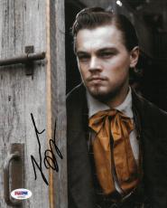Leonardo Dicaprio Signed Django Authentic Autographed 8x10 Photo PSA/DNA#AD15527