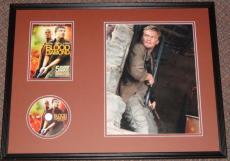 Leonardo Dicaprio Signed Framed 16x20 Photo & Blood Diamond DVD Display AW B