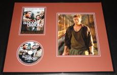 Leonardo Dicaprio Signed Framed 16x20 Photo & Blood Diamond DVD Display AW