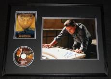 Leonardo Dicaprio Signed Framed 18x24 The Aviator DVD & Photo Display JSA