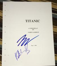 "Leonardo Dicaprio Signed Rare Autograph ""titanic"" Classic Full Movie Script Coa"