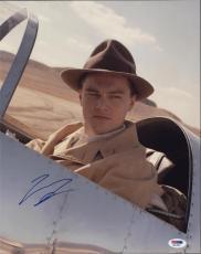 Leonardo Dicaprio The Aviator Signed Autographed 11x14 Photo Psa/dna  Q31095