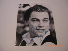 Leonardo Dicaprio Titanic,the Revenant W/coa Signed 8x10 Photo