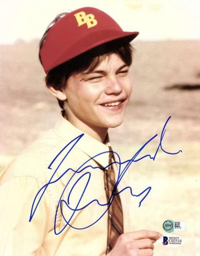 Leonardo DiCaprio VINTAGE Signed Autographed 8x10 Photo Gilbert Grape Beckett