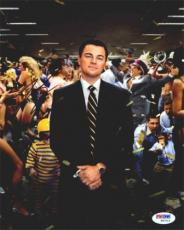 Leonardo DiCaprio Wolf of Wall Street Autographed Signed 8x10 Photo PSA/DNA COA