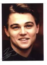 Leonerdo DiCaprio-signed photo-no18