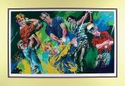 Leroy Neiman 1984 Printers Proof Signed Golf Winners Serigraph