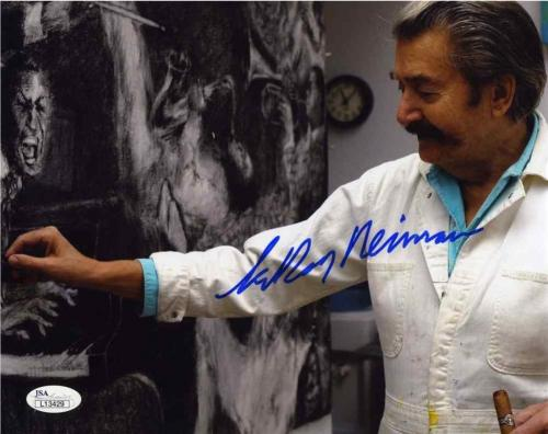 Leroy Neiman Autographed Signed 8x10 Photo Certified Authentic JSA AFTAL COA