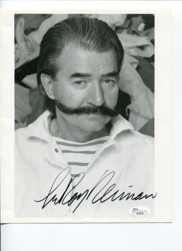 LeRoy Neiman Famous Sport Expressionist Artist Rare Signed Autograph Photo JSA